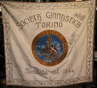 Bandiera ricamata