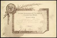 Campionato Tamburello - Venezia, 31 maggio 1903