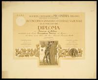 IX Concorso Ginnastico Federale Nazionale - Milano, 22-25 maggio 1913