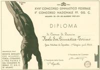 XVIII Concorso Ginnastico Federale e II Concorso Nazionale FF.GG. C. - Milano, 28-30 maggio 1937