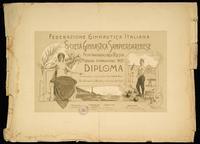 I Concorso Interprovinciale per le Feste inaugurali della Palestra della Società Ginnastica Sampierdarenese - Genova, 1902