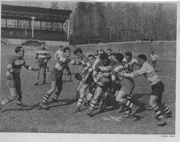 incontro di rugby