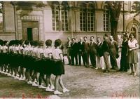 Il saluto alle autorità - luglio 1929