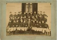 La squadra di ginnastica della Regia Scuola Tecnica Plana - giugno 1894